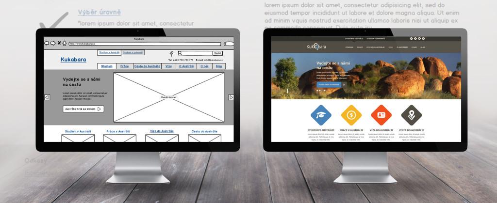 návrh web. stránek